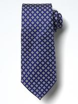 Banana Republic Geo Cubes Silk Nanotex® Tie