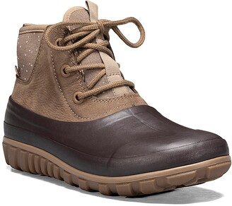 Bogs Casual Waterproof Lace-Up Bootie