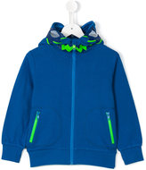 Stella McCartney zipped hoodie - kids - Cotton/Polyester - 10 yrs