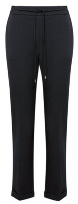 Dorothy Perkins Womens Black Formal Jogger Trousers, Black