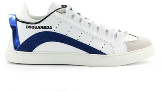 DSQUARED2 551 Low Sole White Blue Sneaker