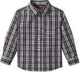 Joe Fresh Toddler Boys' Plaid Shirt, Bordeaux Red (Size 3)