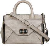 Diane von Furstenberg Gold 440 Gallery Mini Secret Agent Bag