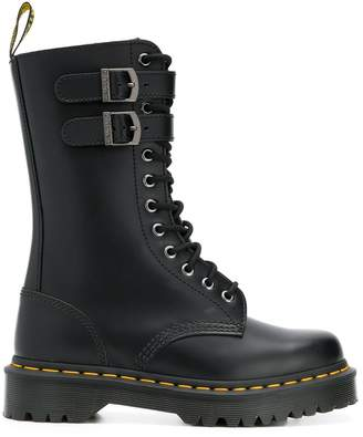 Dr. Martens Mid-Calf Lace-Up Boots