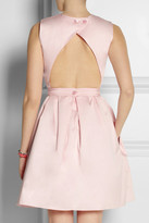 Carven Open-back cotton dress