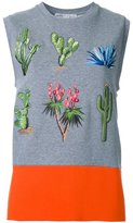 Stella McCartney botanic sleeveless T-shirt - women - Cotton - 40