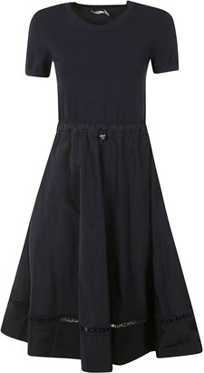 Moncler Fitted Waist Dress