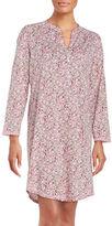 Miss Elaine Printed Floral Sleepshirt