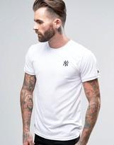 New Era Ringer T-Shirt With Yankees Logo
