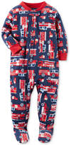 Carter's 1-Pc. Firetruck-Print Footed Pajamas, Baby Boys (0-24 months)