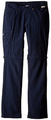 Jack Wolfskin Kids Safari Zip Off Pants (Little Kid/Big Kid) (Night Blue) Kid's Casual Pants