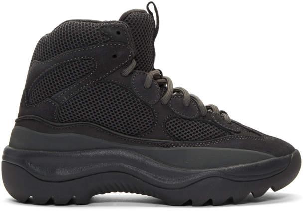 Yeezy Grey Desert Boots