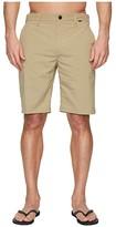 Hurley Dri-FIT Chino Walkshorts 21 (Obsidian) Men's Shorts