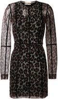 Christopher Kane leopard-print dress - women - Nylon/Spandex/Elastane - S