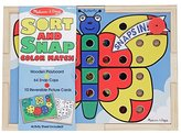 Melissa & Doug Sort & Snap Color Match (65 pc)