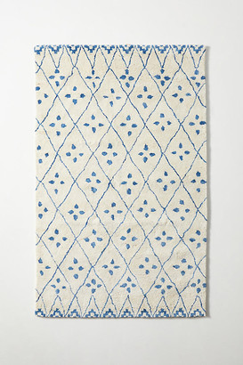 Anthropologie Tufted Safi Rug By in White Size 5X8