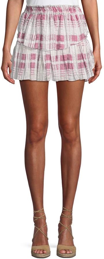 cf73e9507 Plaid Tiered Skirt - ShopStyle