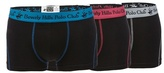 Beverly Hills Polo Club Black Pack Of Three Trunks