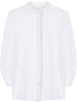 See by Chloe Cotton voile blouse