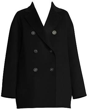 Acne Studios Women's Odine Wool-Blend Peacoat