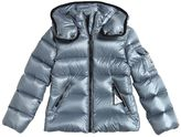 Moncler Berre Hooded Nylon Down Jacket