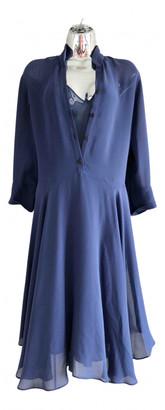 Hermes Blue Silk Dresses