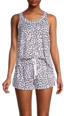 Kensie 2-Piece Print Pajama Set