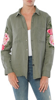 Rails Marcel Shirt Jacket With Patches