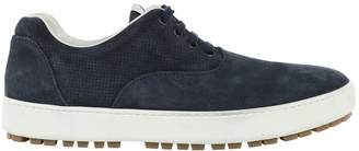 Hogan Navy Suede Trainers