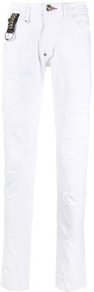 Philipp Plein Super Straight Cut Jeans