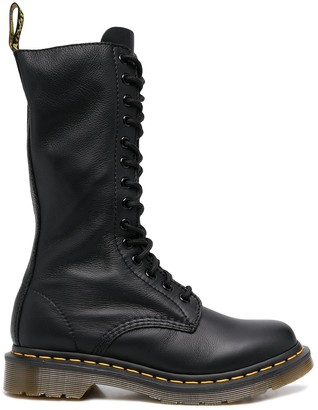 Dr. Martens Chunky Lace-Up Leather Boots