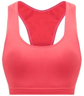 PRISM² Prism - Elated Racerback Medium-impact Sports Bra - Dark Pink