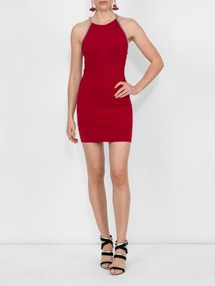 Halter Dress Red