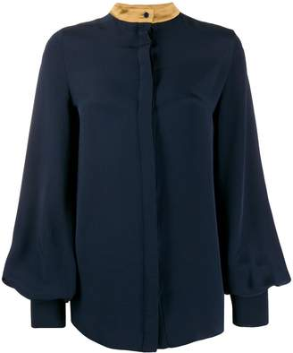 Roksanda bell sleeve blouse