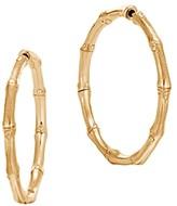 John Hardy 18K Yellow Gold Bamboo Medium Hoop Earrings