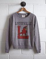 Tailgate Women's Louisville Cardinals Crew Sweatshirt