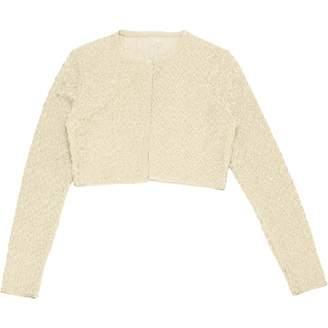 Alaia Gold Viscose Knitwear