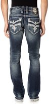 Rock Revival Men's Bonakk J402 Straight Cut Jeans