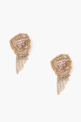 Mignonne Gavigan Pink Milly Chain Earrings