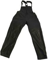 Muu Baa Muubaa Black Leather Jumpsuit for Women