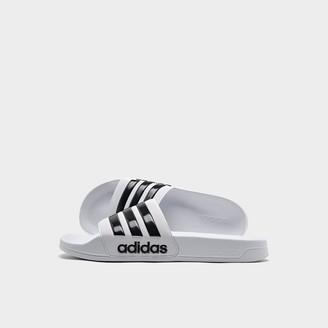 adidas Men's Essentials Adilette Cloudfoam Slide Sandals