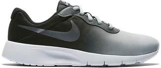 Nike Boys' Sneakers Oil - Oil Gray & Metallic Cool Gray Ombre Tanjun Sneaker - Boys