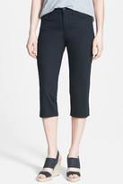 NYDJ 'Bella' Colored Straight Leg Stretch Crop Jeans (Petite)