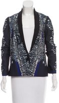 Clover Canyon Digital Printed Shawl Lapel Blazer