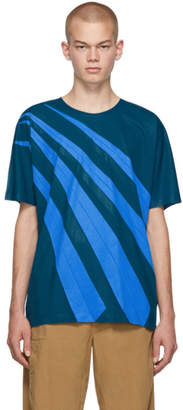 Issey Miyake Blue Wrinkle T-Shirt