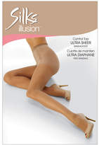 Silks Control Top Ultra Sheer Sandalfoot