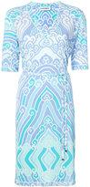 Leonard printed V-neck dress - women - Viscose - 38