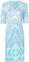 Leonard printed V-neck dress