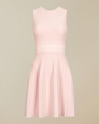 Ted Baker Sleeveless Knitted Skater Dress