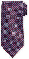 Stefano Ricci Neat Square-Print Silk Tie